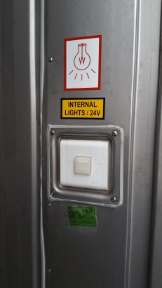 10 Foot Reefer - Light Switch