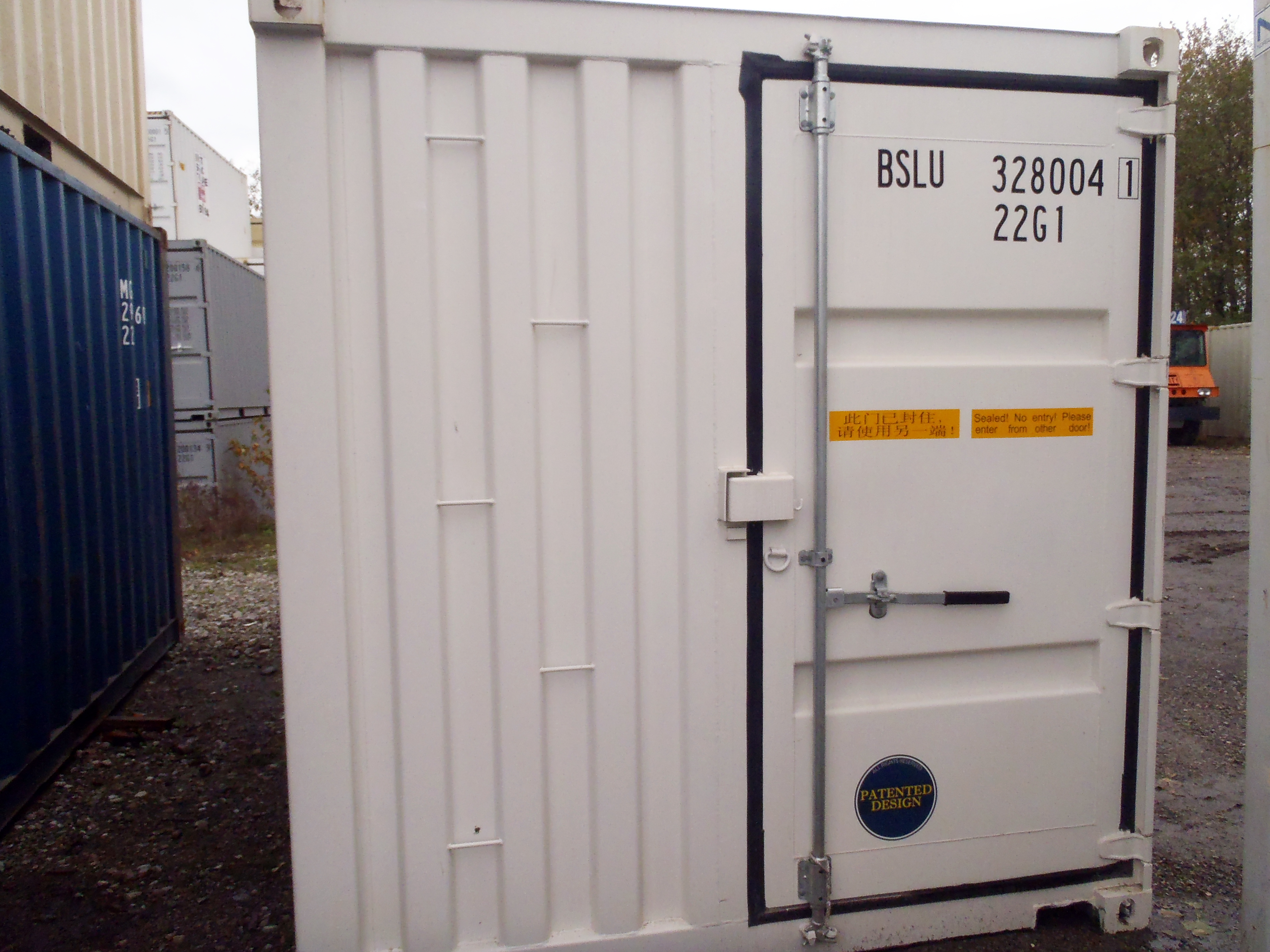 Vancouver shipping container sales insta space storage - Shipping container end welding ...