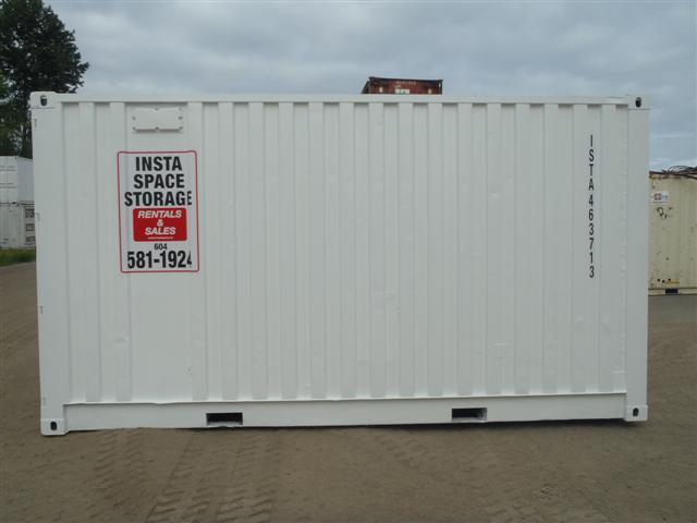 15' Steel storage container Rt Side