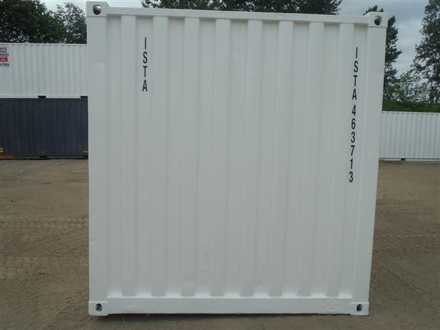 15' Steel Storage Container head end