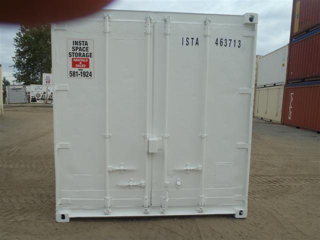 15' Steel Storage ContainerDoor end Closed