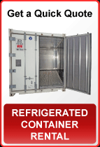 Quick Quote - Refrigerated Container Rental
