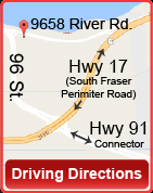 Map of 9658 River Road, Click for Driving Directions