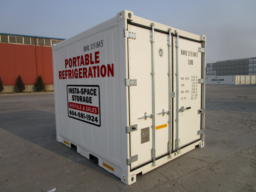 Refrigerated Container Rentals | Insta-Space Storage